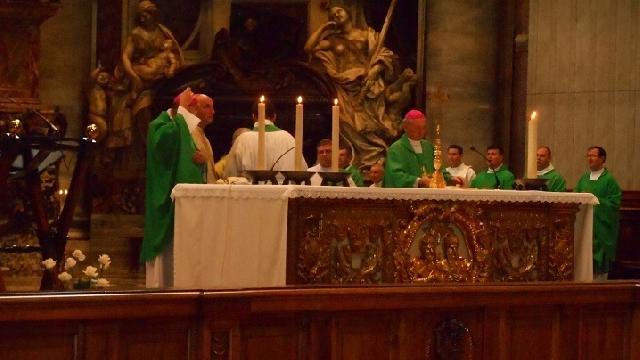 Predica IPS Ioan Robu în bazilica San Pietro cu ocazia pelerinajului national la Roma,