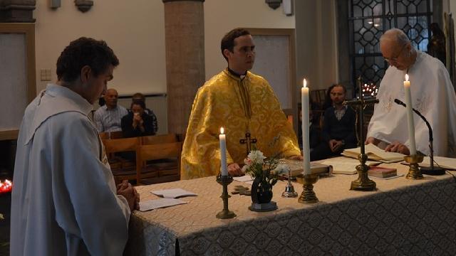 Hramul comunitatii greco-catolice de la Bruxelles,