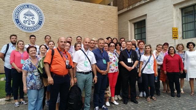 Participanti oradeni la Jubileul profesorilor de la Roma,