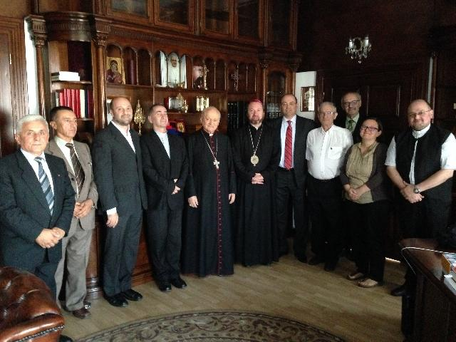 """""""Cardinalul Lucian Muresan a dat binecuvântarea Sa, noii Conduceri AGRU"""","""