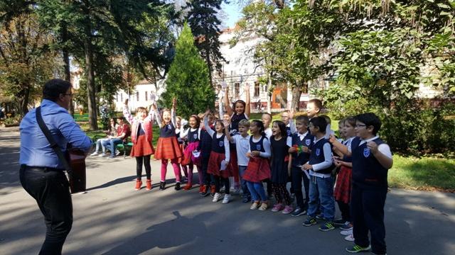 Ziua europeana a limbilor în parc…,