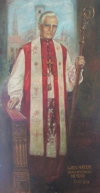 Mutarea ramasitelor pamântesti ale episcopului Márton Áron,