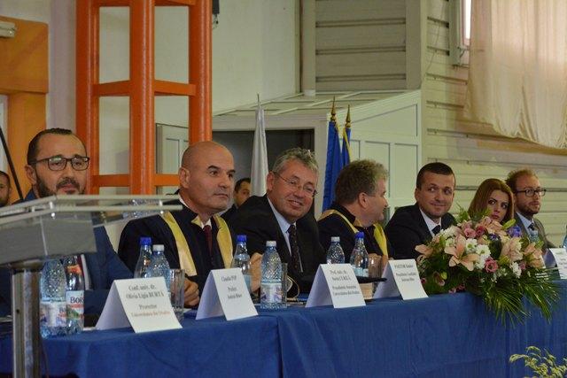 Deschiderea anului universitar la Universitatea Oradea,