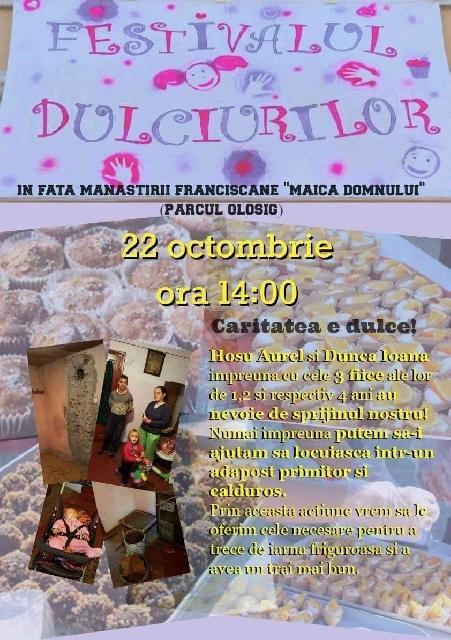 Invitatie: Festivalul dulciurilor editia a II-a,
