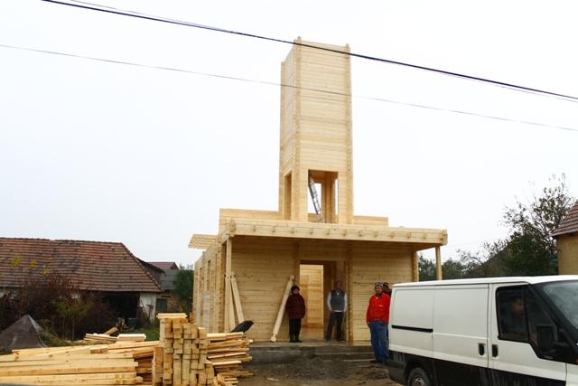 Vizita pe santierul noii Biserici din Stârciu,
