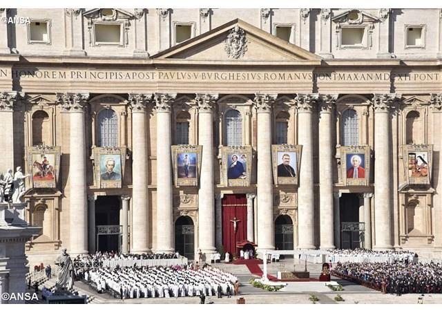 Biografiile celor sapte noi Sfinti ai Bisericii Catolice,