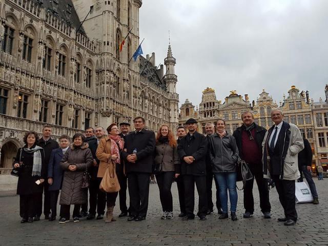 Vizita la Bruxelles,