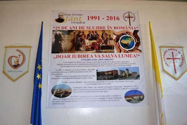 25 de ani de slujire în România,