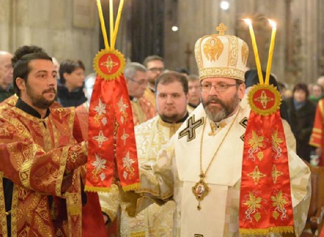 Sfânta Liturghie în Domul Sfântul Stefan din Viena,