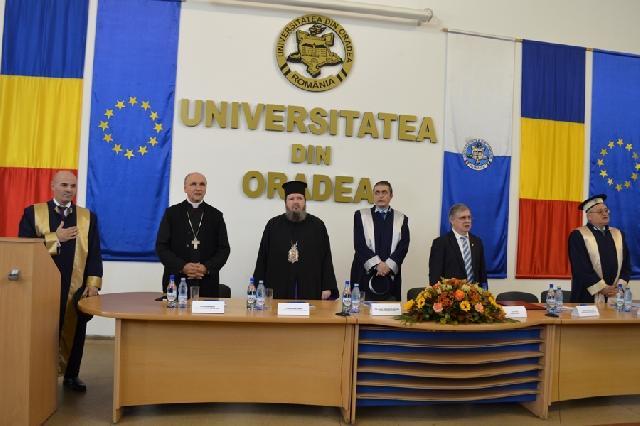 Academicianul Nicolae Dabija la Oradea,