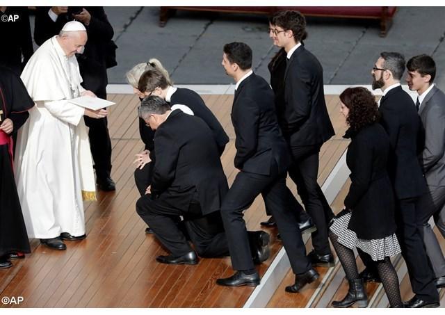 """""""Misericordia et misera"""": scrisoarea apostolica a papei Francisc la încheierea Anului sfânt al milostivirii,"""