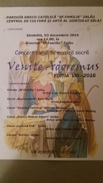 Invitatie: Concert la Zalau,
