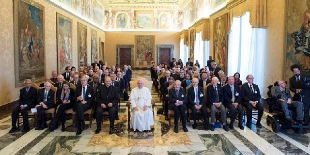 Discursul Papei catre Academia de Stiinte,
