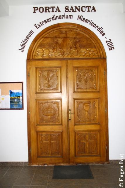 Închiderea Portii Sfinte la Simleu Silvaniei,