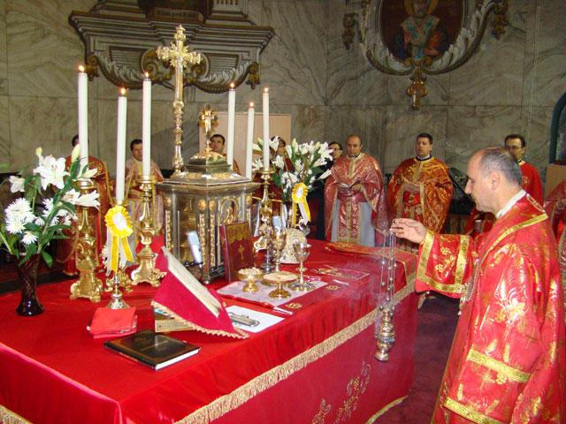 """Sfânta Liturghie de hramul Catedralei """"Sfântul Nicolae"""","""