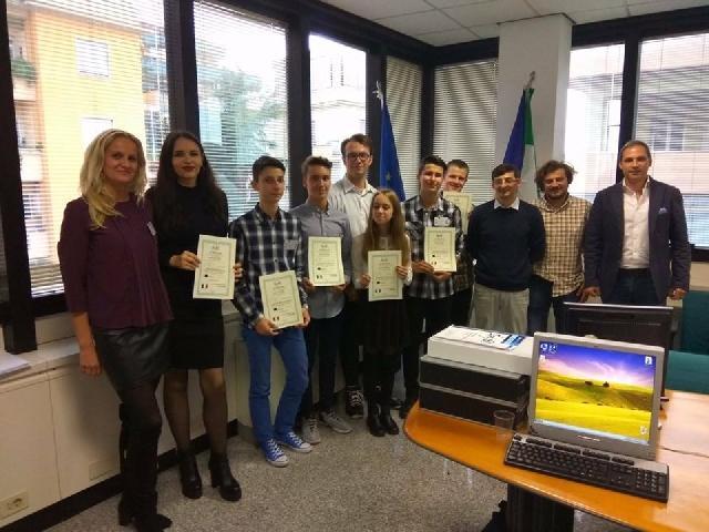 Proiectul Erasmus+Formarea de viitori profesionisti prin stagii de pregatire practica la nivel european,