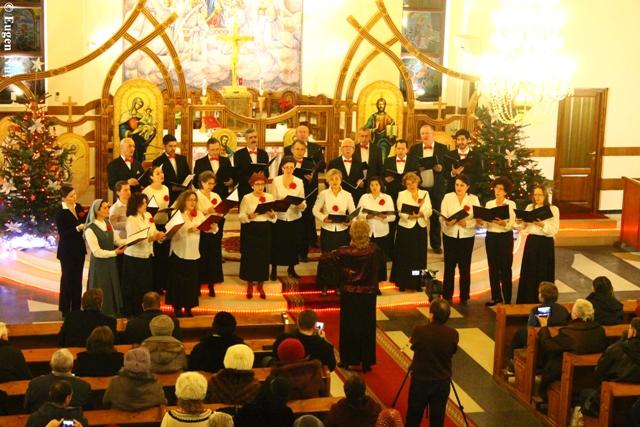 Concertul de Craciun la Manastirea Franciscana,