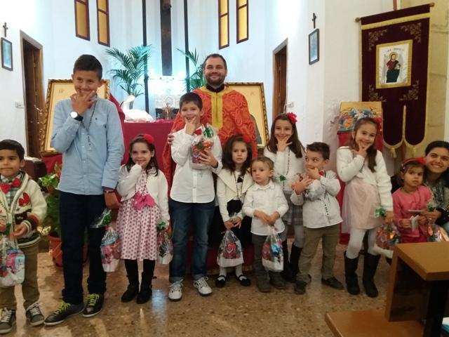 Mini-Concert de colinde pregatit de copii Bisericii din Alicante,