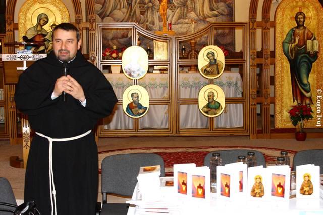 Lansare de carti la Manastirea Franscicana,