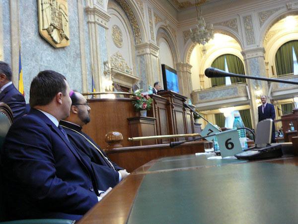 Comemorarea episcopului Demetriu Radu în Senatul României,