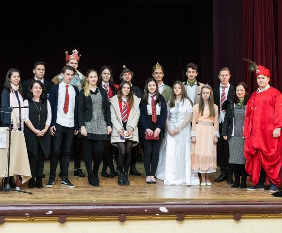 Mihai Eminescu comemorat la Liceul Greco-Catolic din Oradea,