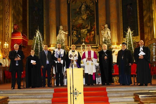 Prima zi a rugaciunii pentru unitatea crestinilor,