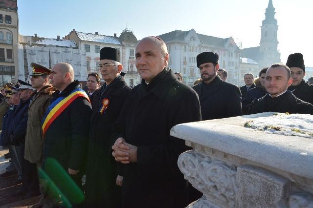 Ziua Unirii Principatelor Române sarbatorita la Oradea,