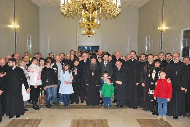 Participarea Ambasadorului României în Italia la manifestarea cu dubla semnificatie de spirit si de neam: sarbatorirea Unirii Principatelor Române si seara de rugaciune pentru unitatea crestinilor,