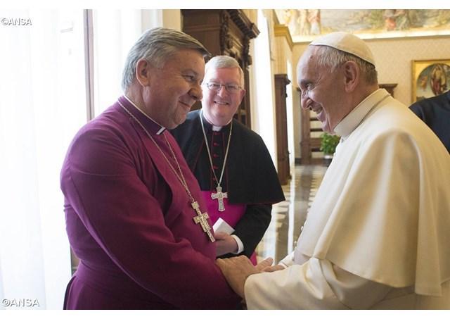 Vecernia anglicana în Bazilica Sfântul Petru,