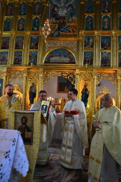 Instalarea noului preot paroh în Parohia Haieu,