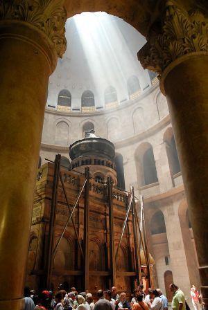 Celebrarea euharistica ecumenica la încheierea lucrarilor de restaurare la Sfântul Mormânt,