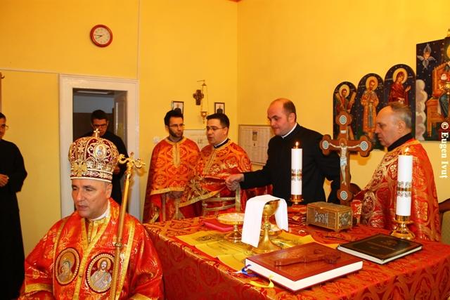 Hirotonire diaconala în Capela Seminarului Teologic,