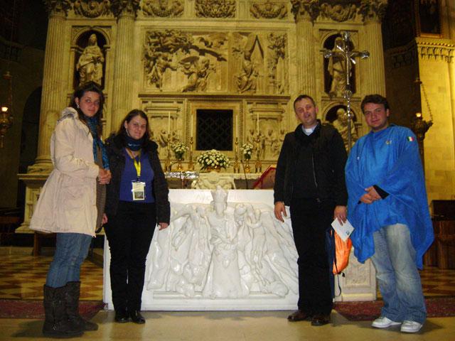 """Loreto, capitala spirituala a tinerilor din Europa"","