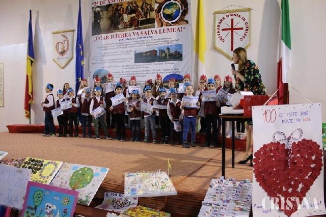 """""""Liceul Don Orione Oradea, clasa pregatitoare B – 100 de zile de scoala"""","""