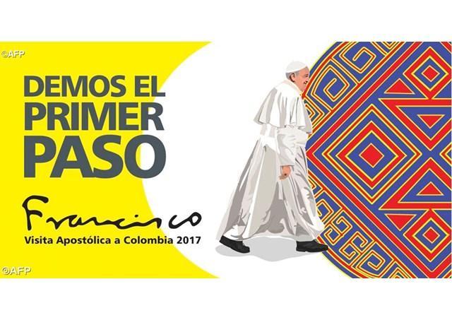 """""""Papa Francisc în Columbia, între 6 si 11 septembrie 2017"""","""