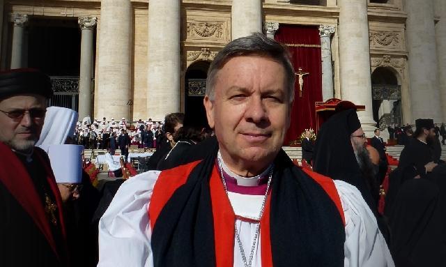 """""""Pentru prima oara în bazilica San Pietro, Vesperele anglicane"""","""