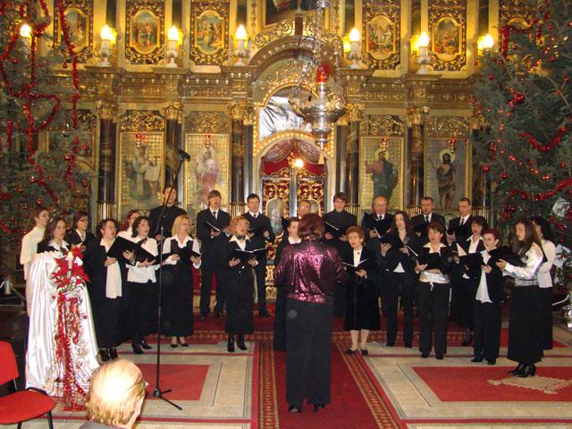 """Concert Extraordinar de Colinde la Catedrala """"Sfântul Nicolae"""" din Oradea,"""