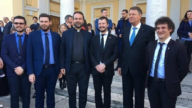 Colegiul Pio Romeno prezent la întâlnirea Presedintelui României cu studentii români din Italia,
