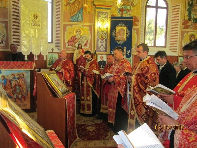 Calea Sfintei Cruci la Sânlazar,