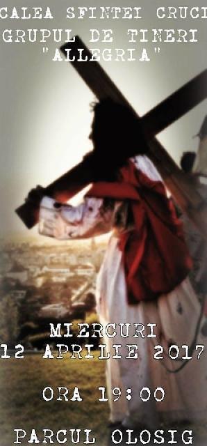 Invitatie: Traditionala Cale a Crucii,