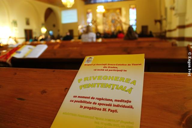 """""""Priveghere Penitentiala la Oradea, în pregatirea sarbatorii Pastilor"""","""