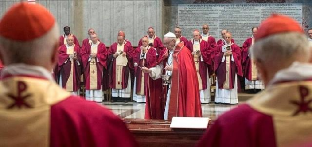 Înmormântarea Cardinalului Attilio Nicora,