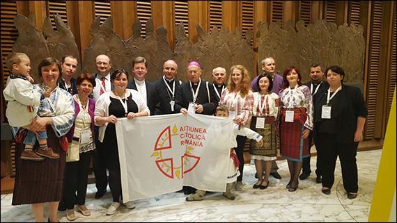 Discursul Sfântului Parinte Francisc adresat participantilor la Congresul Forumului International al Actiunii Catolice (FIAC) (27 aprilie 2017),