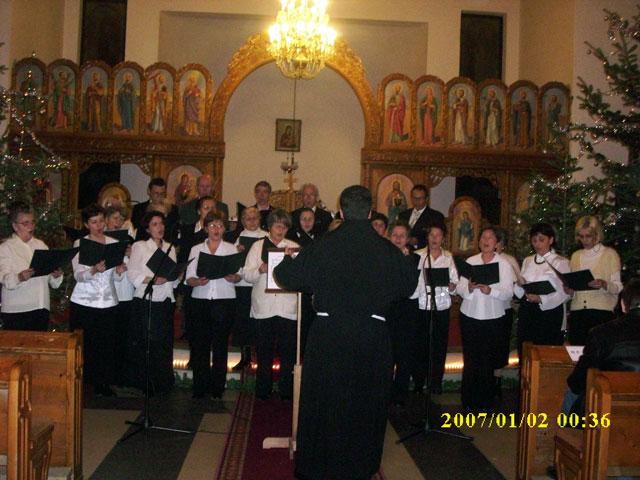 """Colinde pentru suflet la Manastirea Franciscana """"Adormirea Maicii Domnului"""" din Oradea,"""
