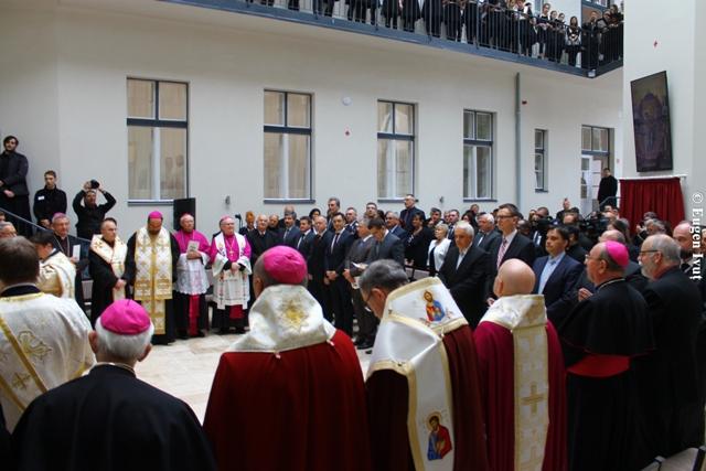 Sfintirea noului sediu mitropolitan din Debrecen,