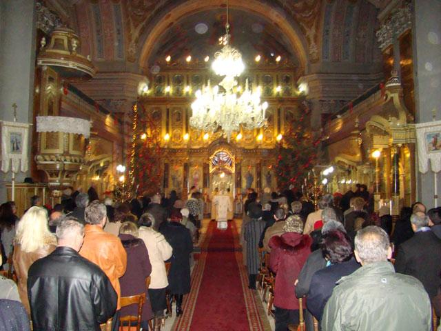 """Nasterea Domnului sarbatorita la Catedrala """"Sfântul Nicolae"""" din Oradea,"""