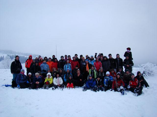 Tabara de iarna pentru scoutistii orionini la Rogojel,