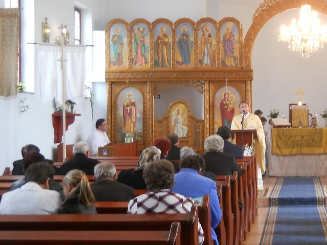 Vizita Parintelui Vicar General Olimpiu Todorean în Parohia Curtuiseni,