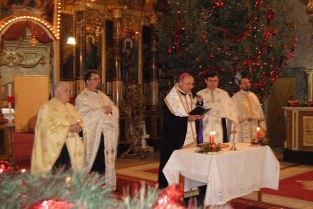"""Te Deum"" la Catedrala Greco-Catolica ""Sfântul Nicolae"" din Oradea,"