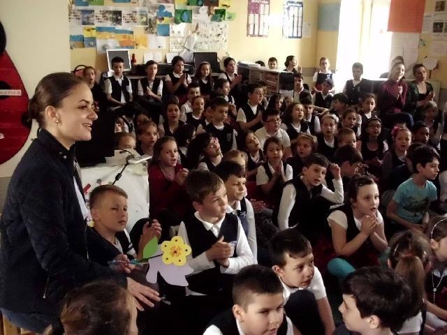 """Proiectul elevilor din clasele primare """"Bucuria prin credinta"""","""